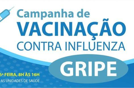 Você que ainda não se vacinou: a campanha de vacinação contra gripe termina nesta sexta-feira