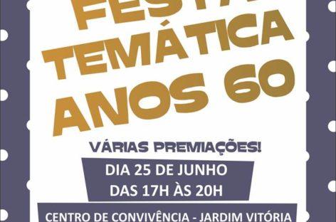 CCI realiza a primeira festa temática para os idosos no Jardim Vitória
