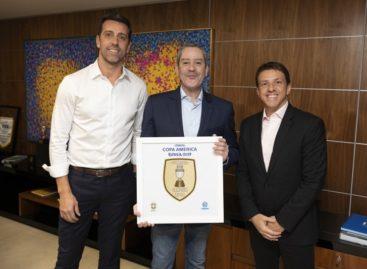 Juninho Paulista é o novo coordenador da Seleção Brasileira