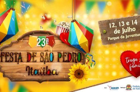 Itatiba recebe neste fim de semana mais uma edição da Festa de São Pedro