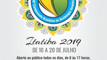 Campeonato Brasileiro de Ornitologia Amadora vai até este sábado