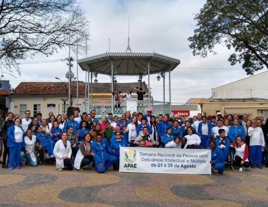 APAE de Itatiba celebra Semana Nacional da Pessoa com Deficiência Intelectual e Múltipla