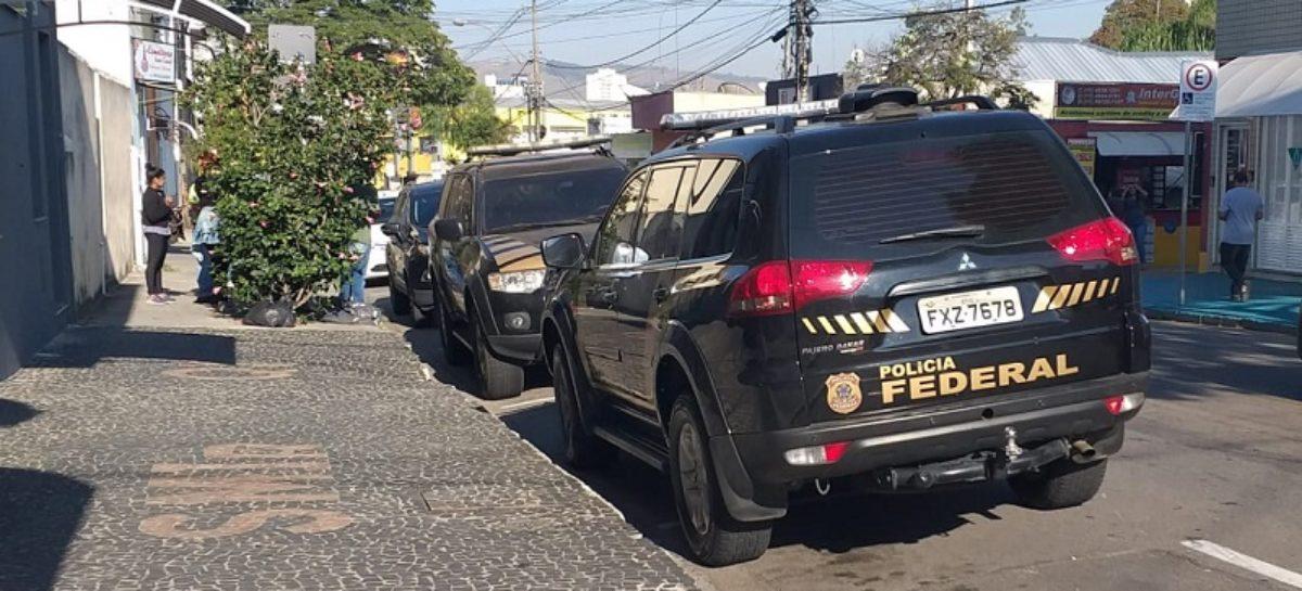 PF deflagra operação em quatro cidades incluindo Itatiba