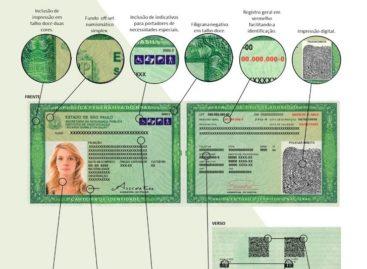 Nova carteira de identidade começa a ser emitida em SP