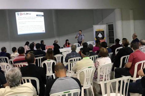 Moradores do Bairro da Ponte participam de reunião do CONSEG