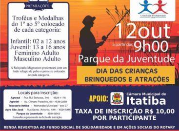 4º Torneio de Pesca Beneficente acontece neste sábado