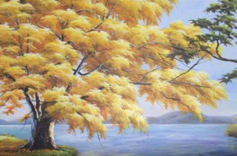 Fórum de Itatiba realiza expõe obras do artista plástico Floberto Borges