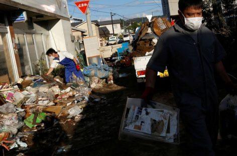 População afetada por tufão tem dificuldades para se recuperar