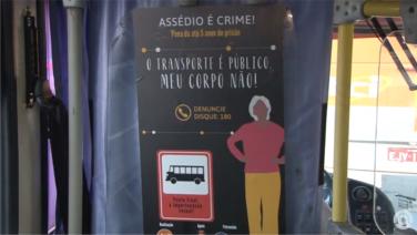 Itatiba recebe campanha de assédio sexual dentro do transporte público