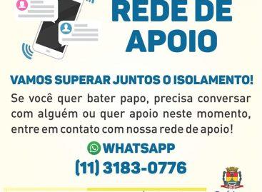 Itatiba disponibiliza Psicólogos para atendimentos através de WhatsApp