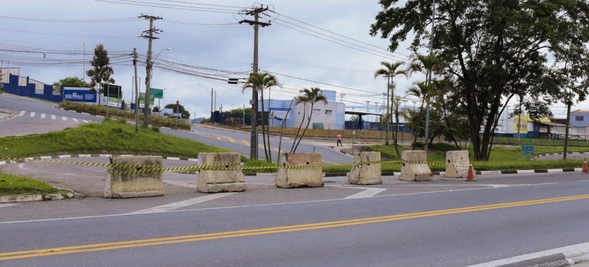 Prefeitura de Itatiba instala barreiras nos acessos à cidade