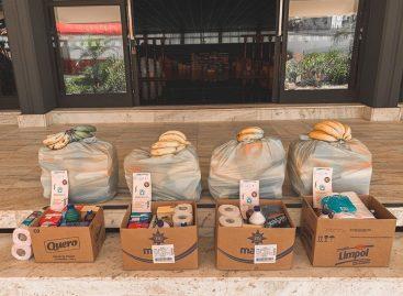 Instituições arrecadam alimentos para ajudar famílias afetadas pela pandemia