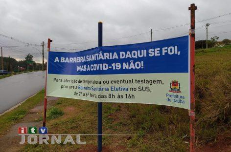 ITATIBA AMANHECE SEM AS BARREIRAS SANITÁRIAS