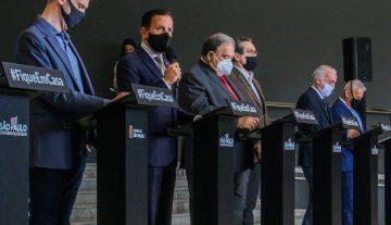 SP AGUARDA AUTORIZAÇÃO DA ANVISA PARA COMEÇAR OS TESTES DA VACINA CONTRA O CORONAVÍRUS
