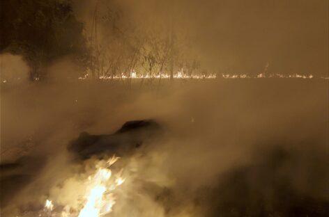 Estiagem aumenta o risco de queimadas